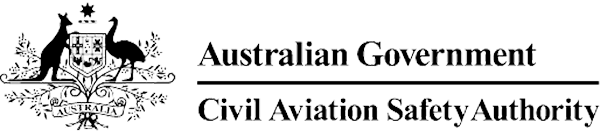 Logo for the Australian Government Civil Aviation Safety Authority